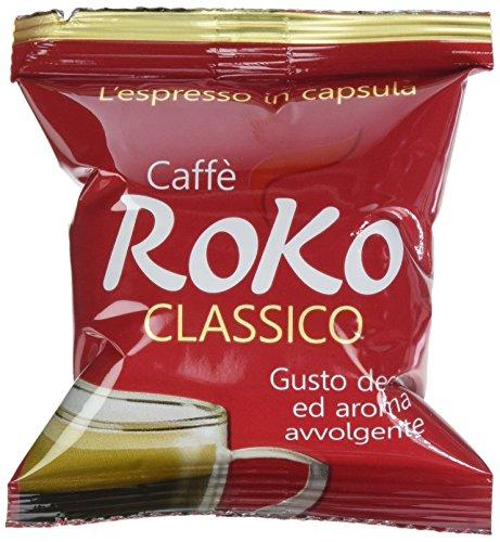 Caffè Roko Caspsule Espresso Point Tostato - 100 Pezzi da 700 Gr