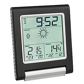 TFA Dostmann 35.1089.01 – Estación meteorológica, Color Negro