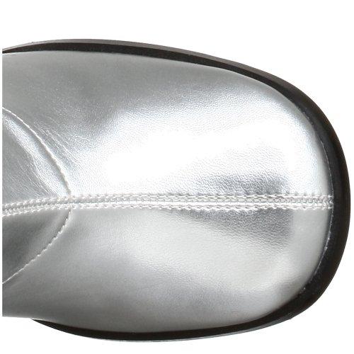 Pleaser Gogo300/yl, Bottes Femme Argent (Silver)