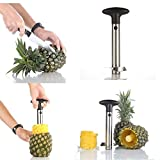 #5: Gopani Heavy Stainless Steel Fruit Pineapple Corer Slicer Peeler Kitchen Cutter Knife