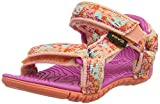 Teva Unisex-Kinder T Hurricane 3 Sandalen, Pink (Splash Tropical Peach),  20