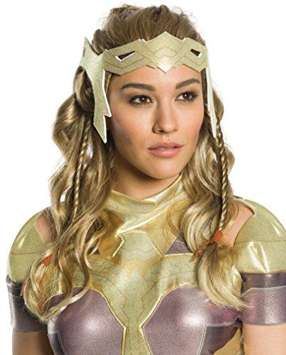 Wonder Woman Movie Hippolyta Wig Adult Costume Accessory