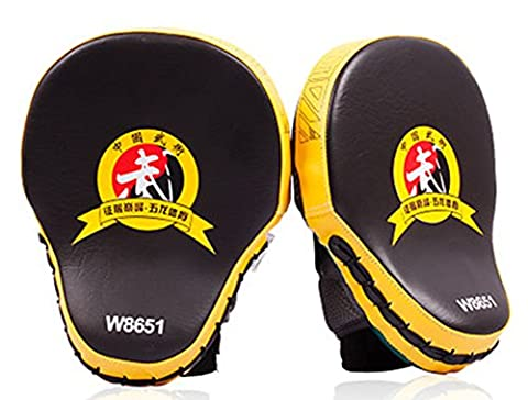 SaySure - 1pieces/lot ! Muay Thai MMA Boxing Gloves Sandbag Punch Pads Hand Target Focus Training Circular Mitts for Kick Fighting -