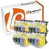 Bubprint 20 Druckerpatronen kompatibel für Brother LC-1220 LC-1240 LC1220 LC1240 für MFC-J430W MFC-J5910DW MFC-J6510DW MFC-J6710DW MFC-J825DW BK C M Y