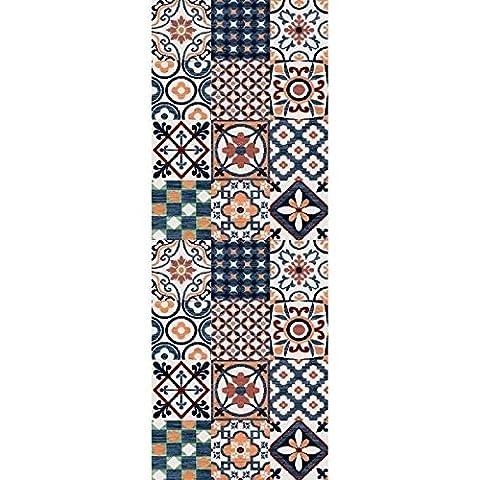 Tapis 160 X 160 Blanc - Tapis de salon Utopia carreaux de ciment