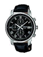 Carte Blanche 0 - Reloj de cuarzo para hombre, con correa de cuero, color negro de Carte Blanche