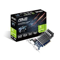Asus NVIDIA Gt 710 2 GB Passive Cooling Pci-E Graphics Card