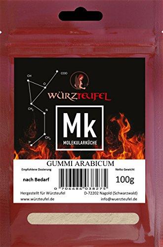Gummi arabicum, Gummiarabikum, Akaziengummi, E 414. Molekulare Küche. Beutel 100g.