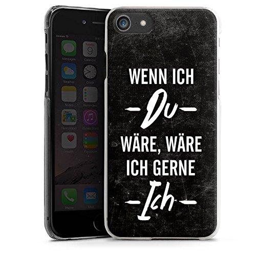 Apple iPhone X Silikon Hülle Case Schutzhülle Spruch Statement Humor Hard Case transparent