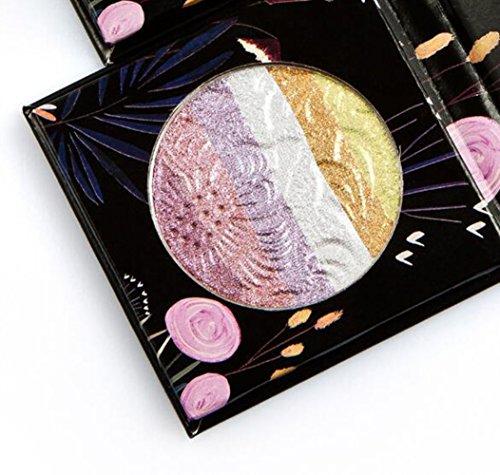 YYAANNGG,Regenbogen Highlighter 6 Kampf Farbe Regenbogen Highlight Lidschatten Ton Toner Make-Up...