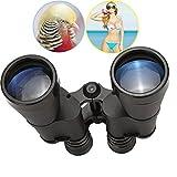 Tonyhoney Prism binocolo Zoom 10x 50/impermeabile binocolo/Compact binocolo con custodia con copriobiettivo + + panno pulito per bird watching, concerti, giochi di sport, caccia, outdoor Stargazing