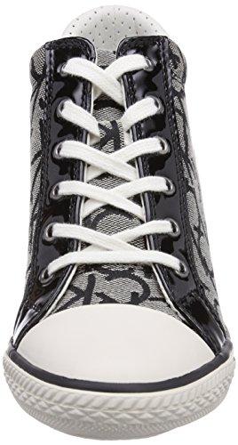 Calvin Klein Jeans VERO CK LOGO JACQUARD/PATENT Damen Hohe Sneakers Mehrfarbig (GRB)