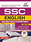 SSC English Topic-wise Latest 35 Solved Papers (2010-2016) (Old Edition)