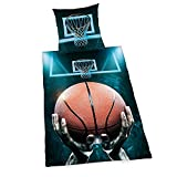 Bettwäsche Herding glatt Basketball Zipper Geschenk 135 x 200 Geschenk NEU WOW - All-In-One-Outlet-24 -