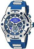 Invicta 25465 - Reloj de pulsera hombre, Poliuretano, color Azul