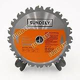 "SUNDELY® TCT Circular Saw Blade 180 mm X 20 mm X 20T (7"" X 0.78"") for Evolution RAGE Circular Saw"
