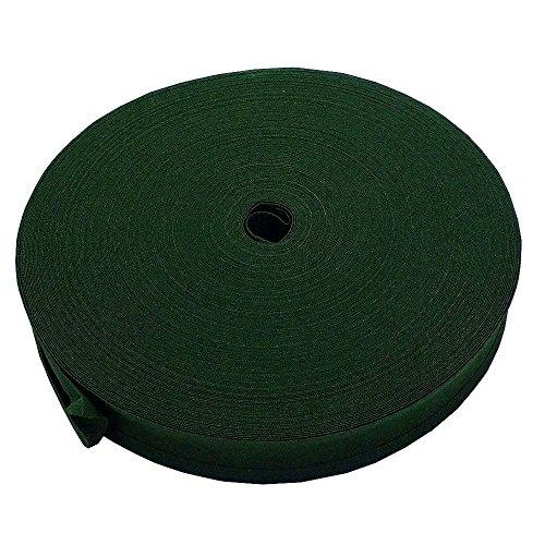 25mm Schrägband Rand 100% Baumwolle–Leaf Grün–10m (Twill-stoff Baumwolle 100%)