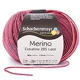 Schachenmayr Merino Extrafine 285 Lace 9807574-00581 cabernet Handstrickgarn, Häkelgarn, Lacegarn, Schurwolle