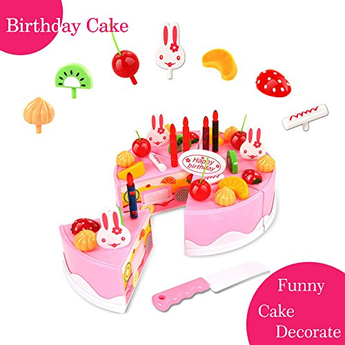BigNoseDeer, known as a worldwide registered brand owned by Lcc International Co., Ltd. is one of the most desired brand in North America, Europe and Asia. 100% Brand New play birthday cake, Material: Plastic,Color: As Picture Show Type: Baby Toys,Su...
