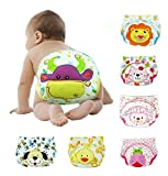 #4: Toyboy Baby Potty Training Pants Washable Cloth Diaper Nappy Set of 3 - Print May Vary