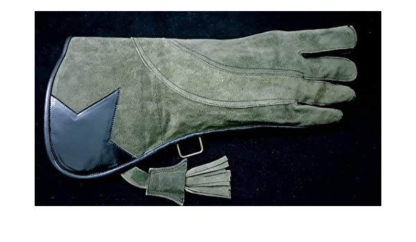 Two Pieces Falconry  Gloves New Style Triple Layer Cow-Hide Leather All size
