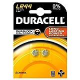Duracell Alkaline-Batterien LR44 A76, 1,5V, 10...