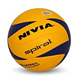 Nivia Spiral Volley Ball Pu Pasted