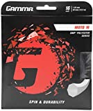 Gamma Tennis String Set 1.29mm, GZMO11, Schwarz