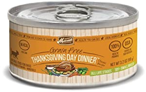 Merrick Classic 3.2-Ounce Small Breed Thanksgiving Day Dinner Dog Food, 24 Count Case by Merrick