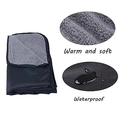 ThinkPet Multi-function Potable Waterproof Car Seat Protector Blanket for Pet,Best Choice for Outdoor Indoor Activities… 4