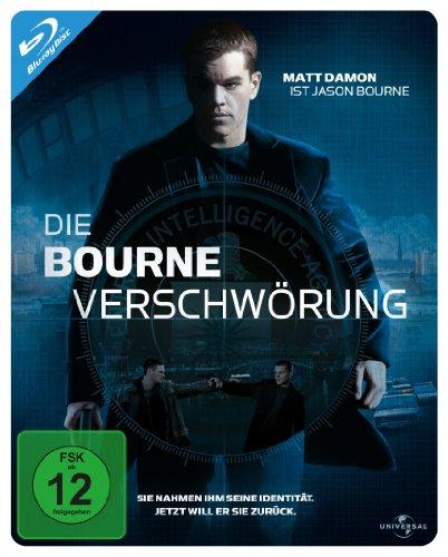 (2) Die Bourne Verschwörung - Steelbook [Blu-ray]