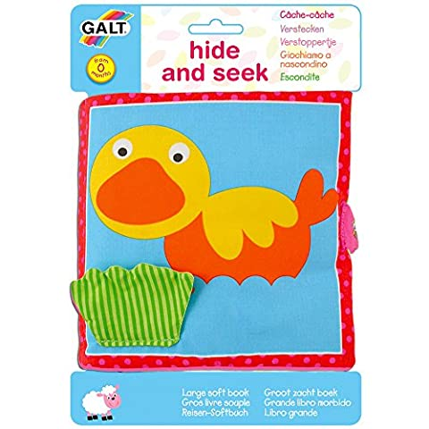 Galt Toys Large Soft Book, Hide and Seek