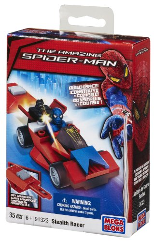 Megablocks 91323 - Spiderman : Voiture de Course de poche Furtive (stealth racer)
