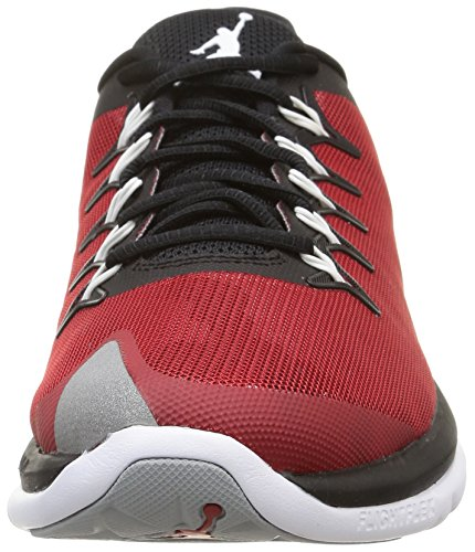 Nike Jordan Flight Runner 2, Chaussures de Sport Homme multicolore (Black/Wolf Grey-Gym Red)