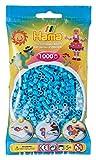 Hama 207 49 Set di 1000 perline, azzurro ghiaccio