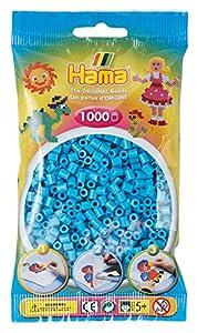 Hama 207-49 - Abalorios (1000 Unidades), Color Azul