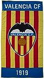 Valencia CF Toavcf Toalla, Blanco / Naranja, 180 x 90 cm