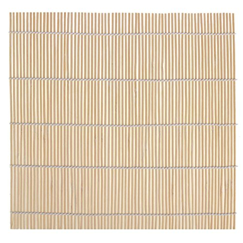 Everpert sushi giapponese riso bamboo diy sushi maker roller rolling mat strumento di cottura 240 x 240 mm