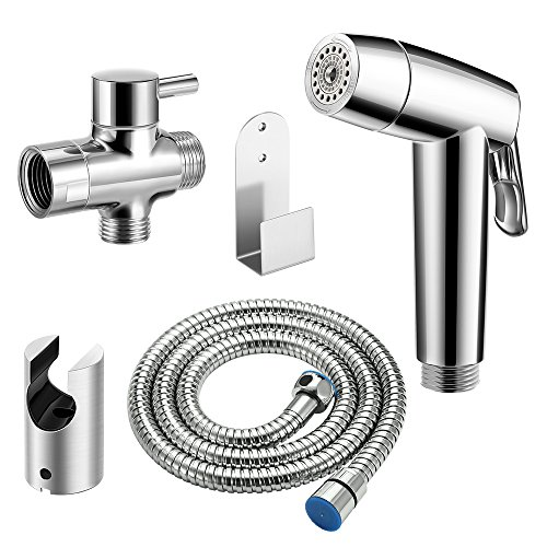 ONEVER Toilette Bidet Sprayer Kit 2 Spraymodi Handheld-Tuch-Windel-Spr¨¹her f¨¹r WC Selbstreinig