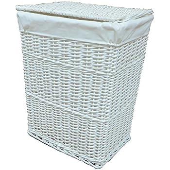 Curver style 60 l plastic laundry hamper vintage white kitchen home - Narrow laundry hamper ...