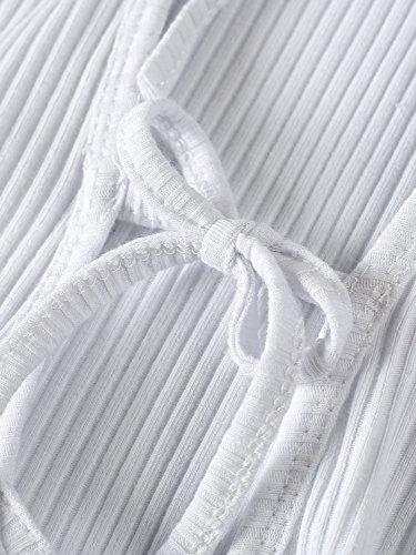 Simplee Apparel - Combinaison - Femme Blanc