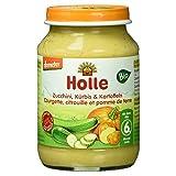 Holle Bio Zucchini, Kürbis und Kartoffeln, 190 g