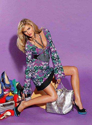 Melrose Damen-Tunika Tunikakleid Mehrfarbig Größe 40
