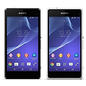Sony Xperia Z1 Compact Smartphone (10,9 cm (4,3 Zoll) HD-Triluminos-Display, 2,2GHz, 2GB RAM, 20,7 Megapixel Kamera, Android OS)