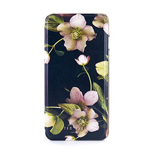 Ted Baker earther AW18 Fashion Marken Spiegel Folio Hülle für Apple iPhone 8 Plus/7 Plus - Arboretum -