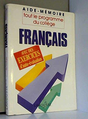 Français/tout le programme du college