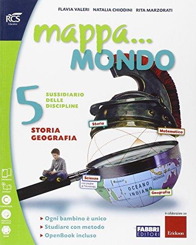Mappa. mondo. Antropologico. Quaderno. Per la 5ª classe elementare. Con e-book. Con espansione online