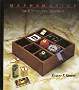 Mathematics for Elementary Teachers: A Balanced Approach by Eugene F. Krause (1991-12-03)