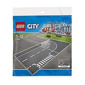 Lego City ' Curva & Cruce en T'7281