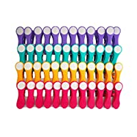 48 Clothes Pegs with Soft Grip